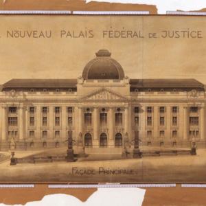 [2018-2019] Digitalisierung der Baupläne zum Bundesgericht in Lausanne