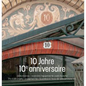 Denkmalpflegepreis 2019 – Zehnjähriges Jubiläum