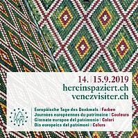 hereinspaziert.ch – Europäische Tage des Denkmals 2019